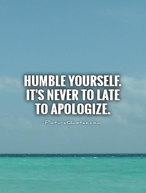 4-apologising