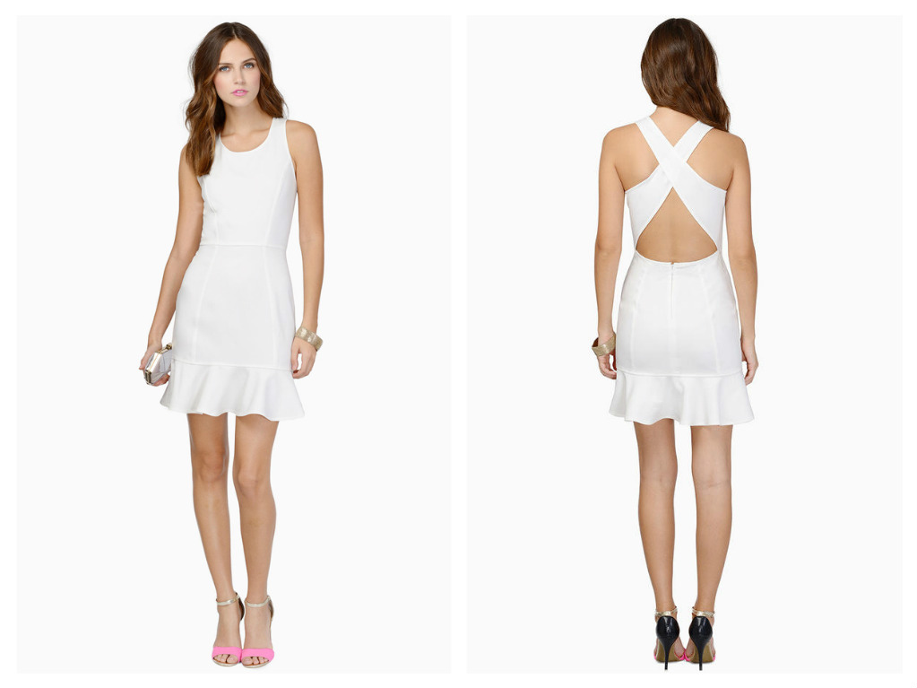 Four Fabulous White Dresses to Brighten Up Your New Year's ...
