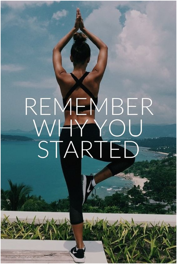 Why You Started Training