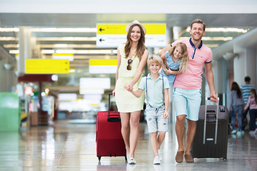 family trip abroad