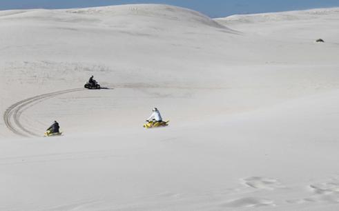 Atlantis sand dunes